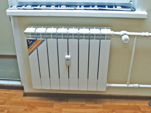 Поквартирный учет тепла, батарея